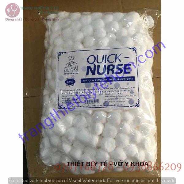 bong gon vien quick nurse goi g