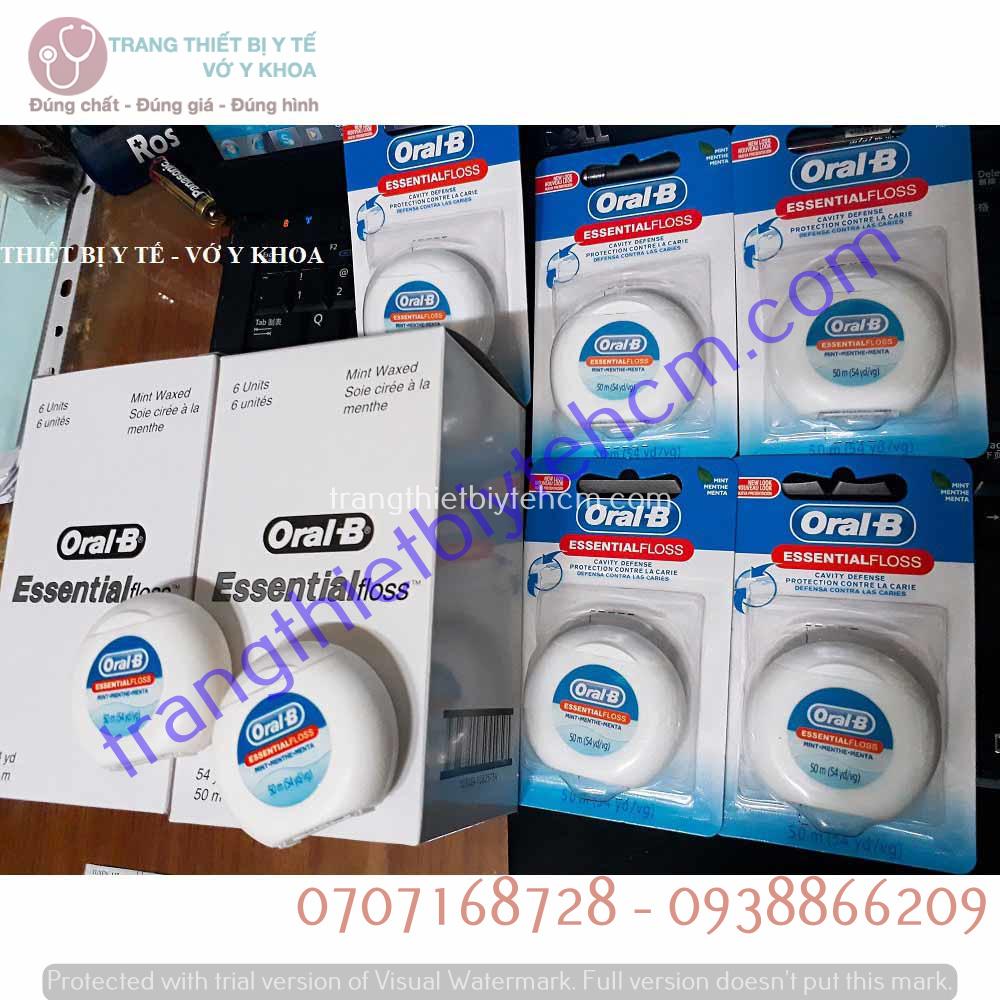 chi nha khoa oral b essential floss m vi