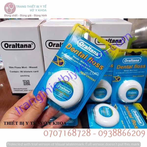 chi nha khoa oraltana dental floss