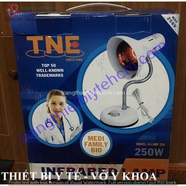 den hong ngoai suoi am tne lamp co tang giam kem bong w