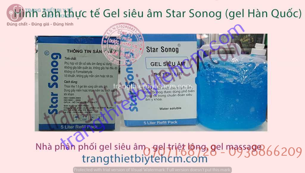 gel sieu am star sonog
