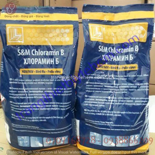 cloramin b tiep khac bot sat khuan khu trung diet khuan
