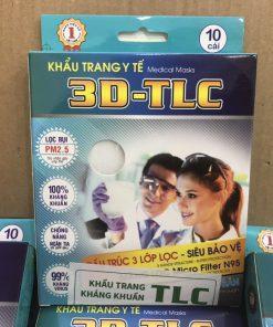 Khẩu trang y tế D kháng khuẩn lớp màng lọc chuẩn n