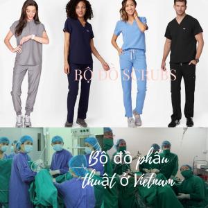 bộ đồ phẩu thuật và áo scrubs